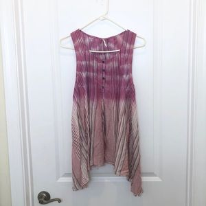 Free People Ponk Ombré Tunic XS